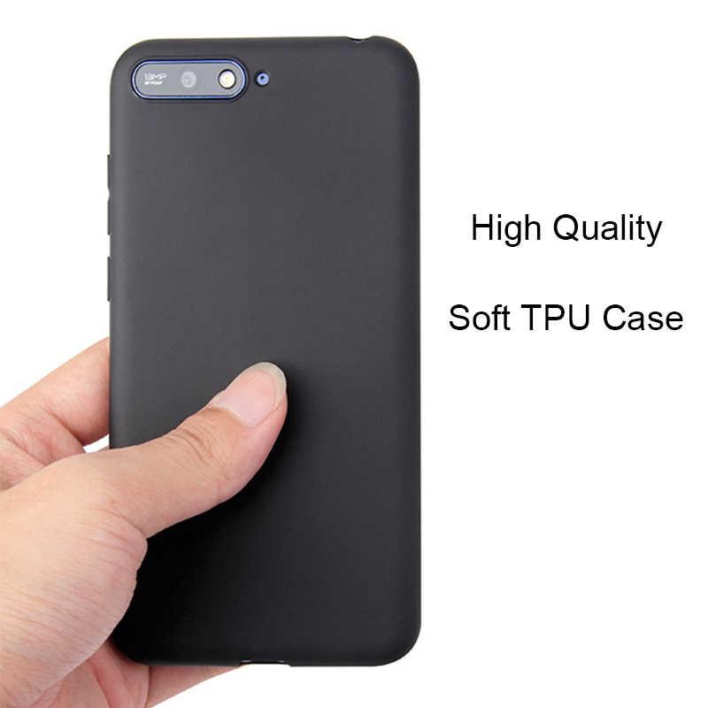 Huawei Y9 Y5 Y6 Y7 Prime 2018 Candy Color Case for Honor 6A 6C 7A 7C Pro 5X 6X 7X 8X Soft Case on Honor 8 9 10 Lite V10 8 Pro