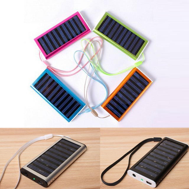 Outdoor Solar Charger Cell Phone Holder Power Bank Battery 1200mAh Portable Solar Charger Solar For Cell Phone
