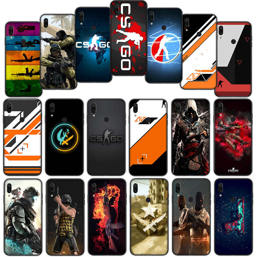 Counter Strike CS IR Macio Case Capa para Xiaomi Redmi Nota 7 4 4X6 Pro 5 Plus 5A 6A Ir S2
