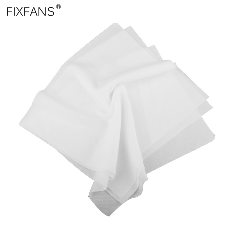 100Pcs 9cm*9cm Mobile Phone LCD Screen Repair Cleaning Cloth Anti Static Dust-free Film Wiping Clean Cloth For Electronics