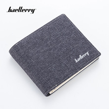 Baellerry Men Wallets 2018 Luxury Brand Men's Wallet Canvas Short Wallet Retro Zipper Wallet Men Purse Male Carteira Masculina цена в Москве и Питере