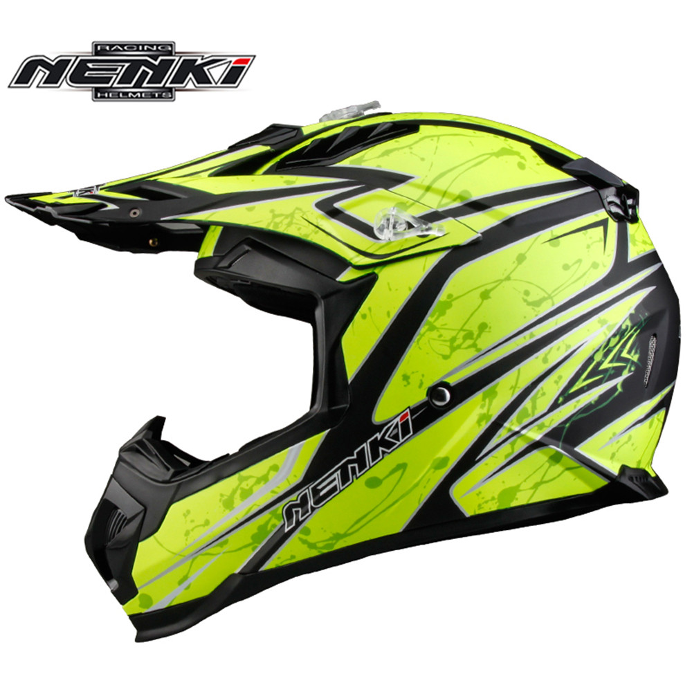 Motocross Helmet NENKI MX315 ATV Dirt Bike Off Road Rally Racing Capacete Casco Casque Kask Motorcycle Helmets EU Standard ECE стоимость