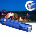 1 pcs Q5 14500 AA Mini Lanterna Tocha Lâmpada Foco Bolso Lápis Luz Azul