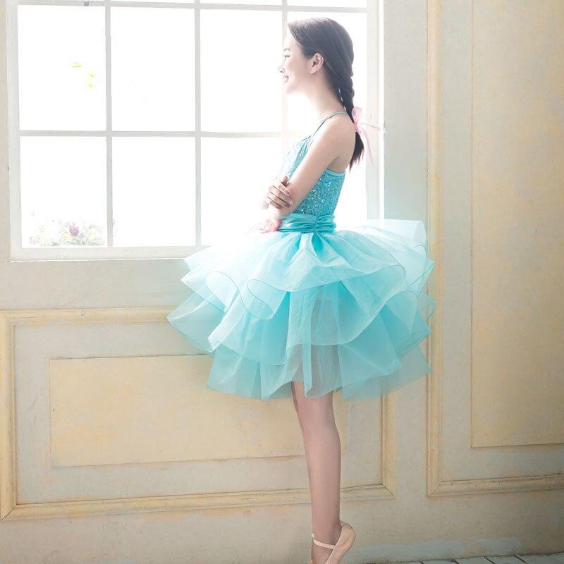 Blue Flower Romantic Professional Classic Bailarina Balet Dance Wear Ballet Ballerina Adult Tutu Skirts Adults Tulle Skirt 2836 In From Novelty