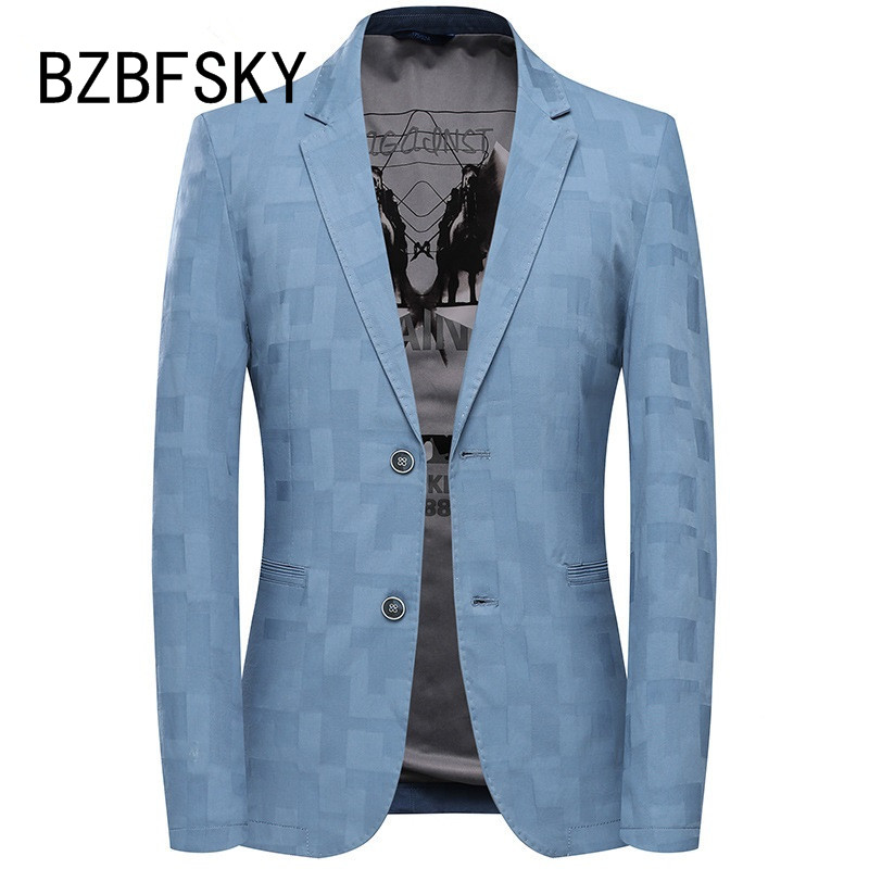 BZBFSKY 2019 New Arrival Summer High Quality Casual Blazer Men,men's Suits Jackets ,casual Jackets Men Plus-size  M-3XL