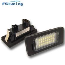 FStuning LED License Plate Light Lamp for BMW 3series E90 E90N E91 E92 E93 M3 12V 24smd rear light car license plate lamp