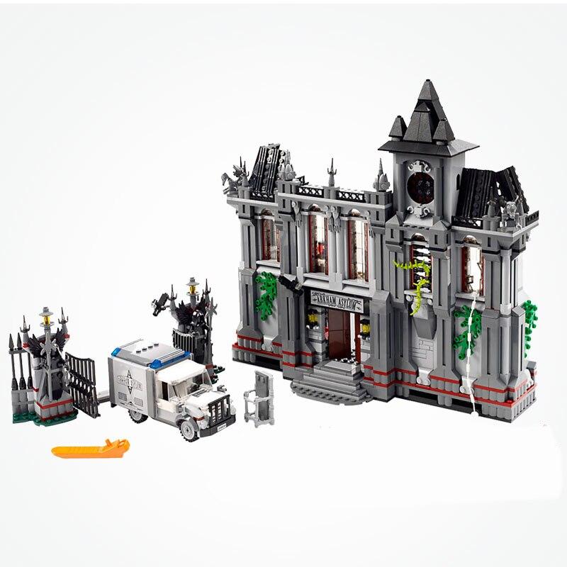 Marvel DC Super Heroes Joker Arkham Asylum Breakout Set Batman Movies Building Blocks Toys