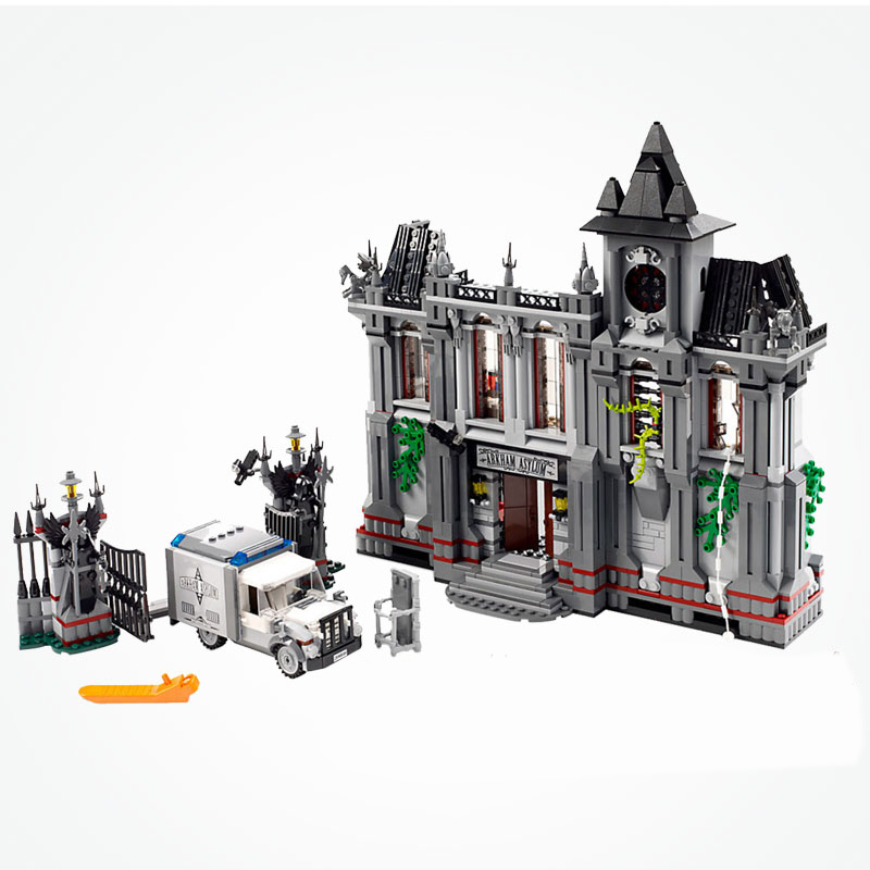 Marvel et DC Super Héros Joker Arkham Asylum Breakout Ensemble Batman Films Blocs De Construction Jouets