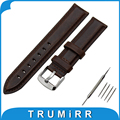 13mm 18mm 20mm First Layer Genuine Leather Watch Band for DW Daniel Wellington Stainless Steel Buckle Strap Wrist Belt Bracelet