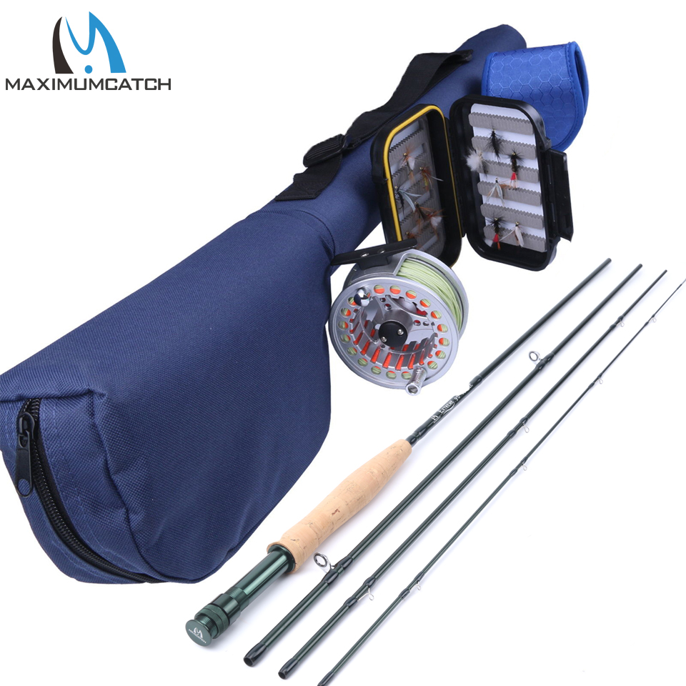 Maximumcatch 5WT 9FT Fly Fishing Outfit Fly Rod Fly Fishing Combo
