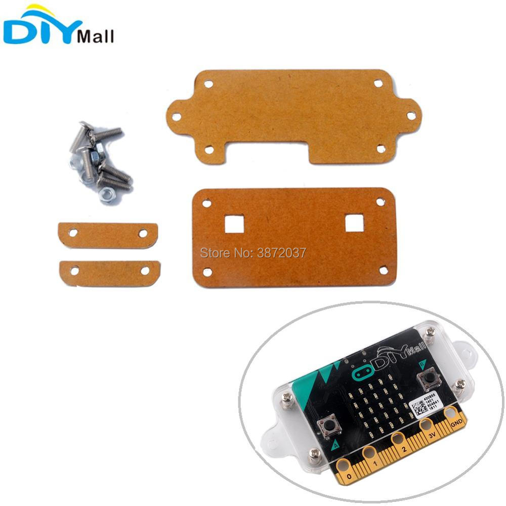Transparent Clear Acrylic Protective Case Cover for BBC Micro:bit Microbit