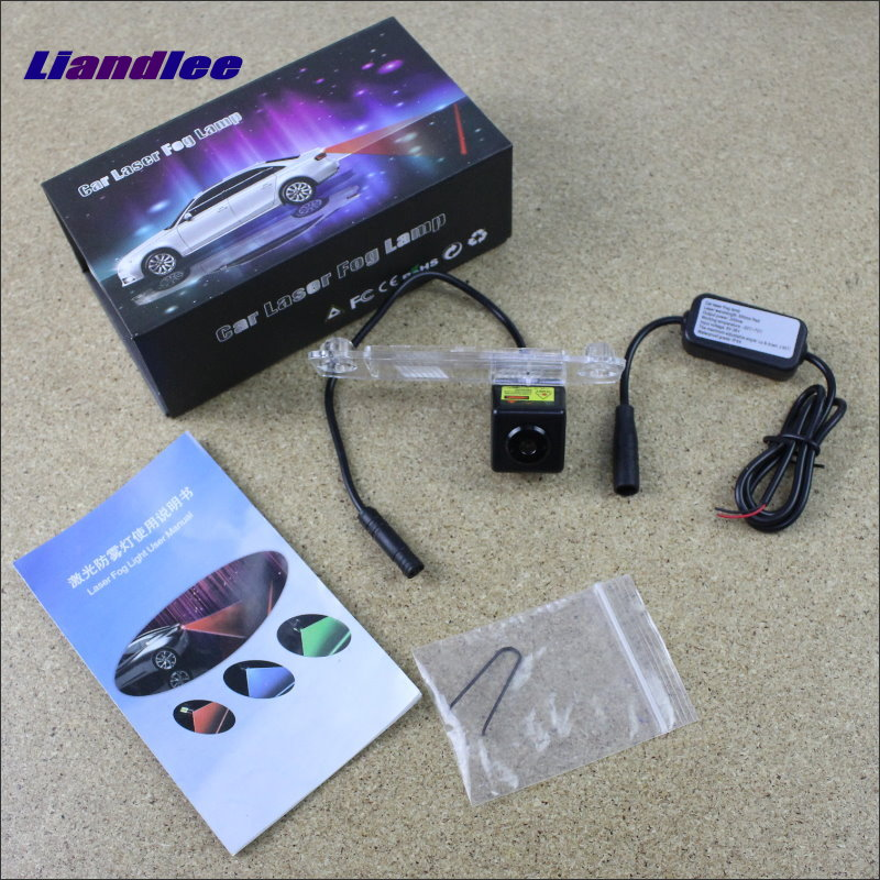 Liandlee For Hyundai Accent MC 2005~2011 Car Laser Light Prevent Rear-end Warning Laser Light Haze Rain Fog Snow Lights hyundai accent hatchback ii бу москва