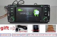 Android 6.0 auto dvd-spieler für Jeep grand wrangler 2015, patriot, kompass, reise gps navigation, radio, rds, 4g, wifi, bt, quad core