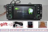 6 2 Pure Android 4 4 4 For Jeep Dodge Chrysler 300C Car Dvd Gps Navi