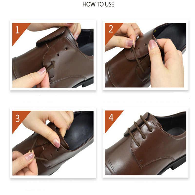 12 ชิ้น/ล็อต 3 ขนาดซิลิโคนยืดหยุ่นสำหรับรองเท้าหนังขี้เกียจไม่มี Tie Laces รองเท้าผู้หญิงลูกไม้เหมาะสำหรับ