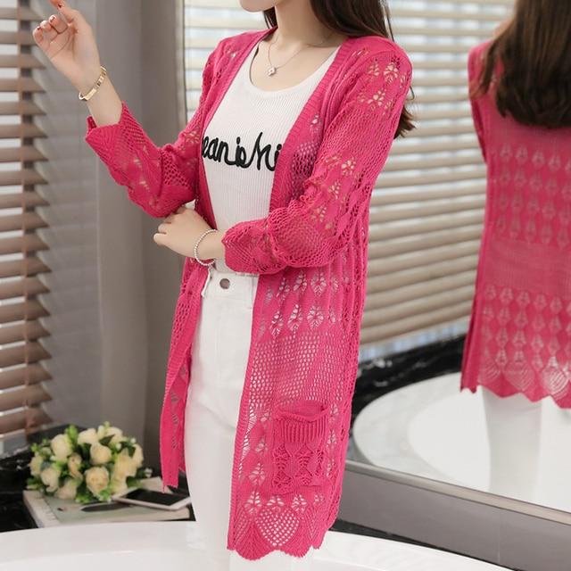 Womens Sweater Spring Jacket Loose Shawl 53