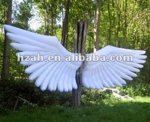 hot inflatable wings model for decoration