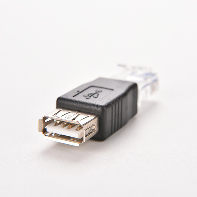Female Usb To Rj45 Cable Wiring Diagram Mercedes Sl500 2 0 New Crystal Head Male Af A Adapter Connector Hdmi