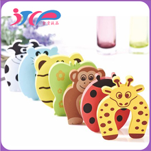 Hot sale baby safety cartoon animal Gates & Doorways Toddler finger protector Door pinch Guard