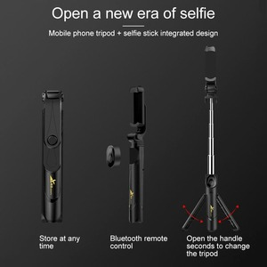 Image 4 - New Trend Selfie Stick Bluetooth Remote Control Three in one Integrated Self timer Tripod Mobile Phone Bracket Live Bracket