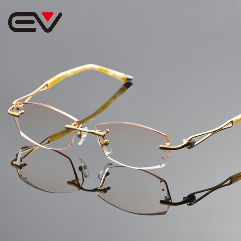 Popular Gold Rimless Eyeglasses-Buy Cheap Gold Rimless ...
