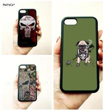 Punisher skull soft silicone edge mobile phone cases for apple iPhone x 5s SE 6 6s plus 7 7plus 8 8plus XR XS MAX case стоимость