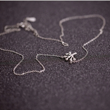 Athemis silver necklace Wishing Tree pendant for Silicone dolls real doll and sex doll girl and women Christmas gift