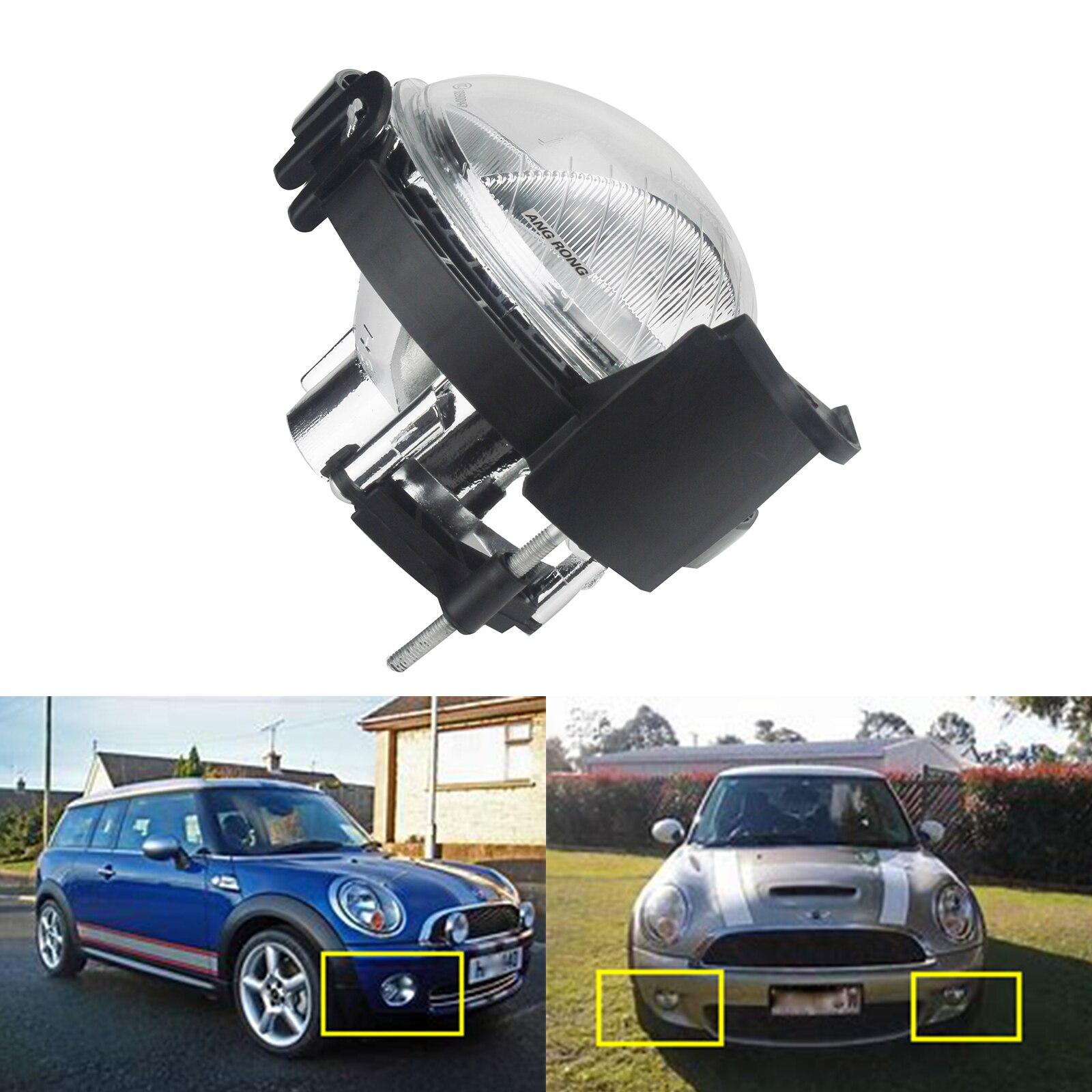 ANGRONG 1pc Left/Right Bumper Fog Light No Bulb For BMW Mini R55-R59 Cooper S Countryman rastar bmw mini cooper s countryman 1 14 радиоуправляемый автомобиль с usb зарядкой игрушки для мальчиков 72560 красный