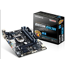 Free shipping 100% new100% original motherboard for Gigabyte GA-B85M-DS3H LGA 1150 DDR3 32GB B85M-DS3H desktop motherboard