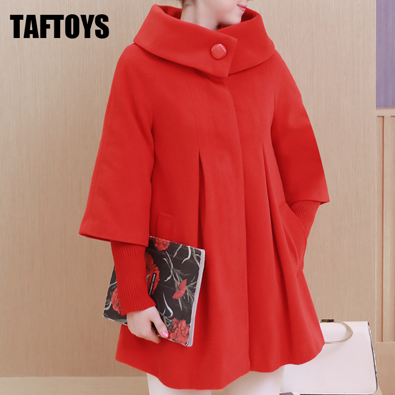 Maternity Clothes Coat Autumn Winter Loose Maternity Clothing Jacket Trench Pregnant Women Outerwear Woolen Maternity Long Coat maternity clothes coat autumn winter loose maternity clothing jacket trench pregnant women outerwear woolen maternity long coat