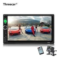 Автомагнитолы 2 Din 7 дюймов сенсорный экран автомагнитолы dvd-плеер Авто Аудио bluetooth несколько языков меню поддерживает заднего вида камера
