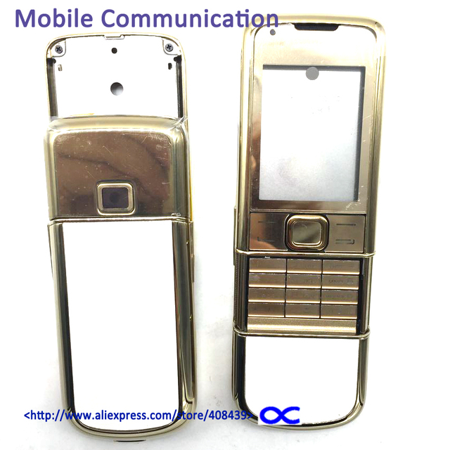 Hot 8800A Middle frame full housing for Nokia 8800 Arte 8800a Middle Plate Battery Cover with Logo