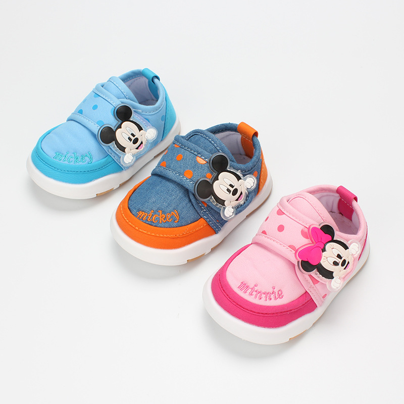 Spring And Autumn Models Infant Boys And Girls Toddler Single Shoes Indoor And Outdoor Casual Shoes Non-slip Baby Shoes  XY174
