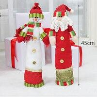 Hot Sale Santa Claus Snow Man Deer Doll Christmas Decoration Xmas Tree Ornaments Best Gift