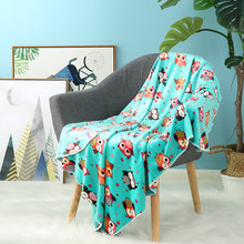 i-baby Large Kids Blanket Soft Baby Velvet Luxury Infant Wrap Cozy Toddler Blanket Quality Newborn Stroller Blanket 90x120cm(China)