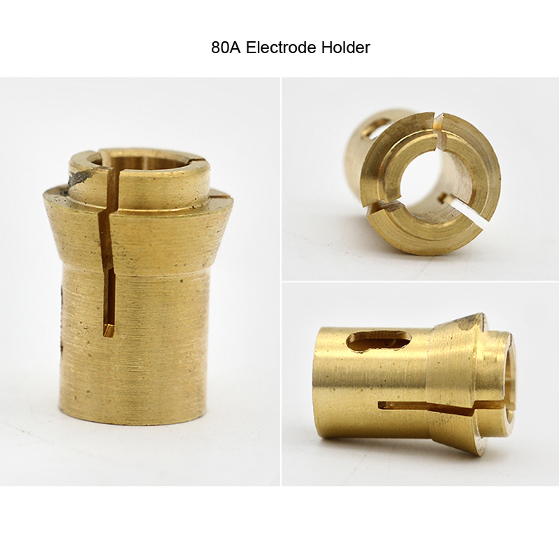 60A/80A Electrode Holder Three-claw Electrode Copper Chuck LGK-63 Plasma Torch Accessories