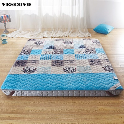 Flannel Velvet Bed Mattress Cover Pad High Quality Winter Warm Mattress Protector Woolen Fitted Sheet Covers-in Mattresses from Furniture