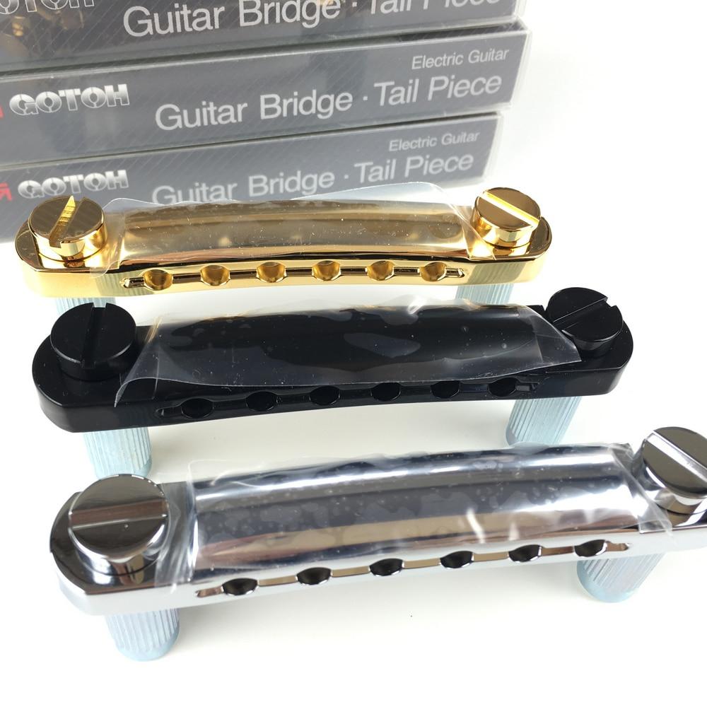 buy original gotoh ge101z tune o matic style electric guitar bridge tailpiece. Black Bedroom Furniture Sets. Home Design Ideas