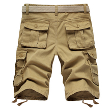 Cargo Shorts Men Cool Military Summer Hot Sale Cotton Casual Short Pants Brand Clothing Army Tactical Camo