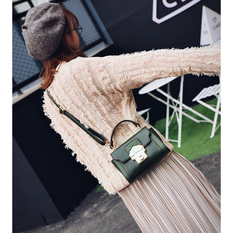 Green Mini Bags Women Famous Brands Vintage Shoulder Bag Messenger Crossboay for Fashion All-match Small 2017 Designer Handbags