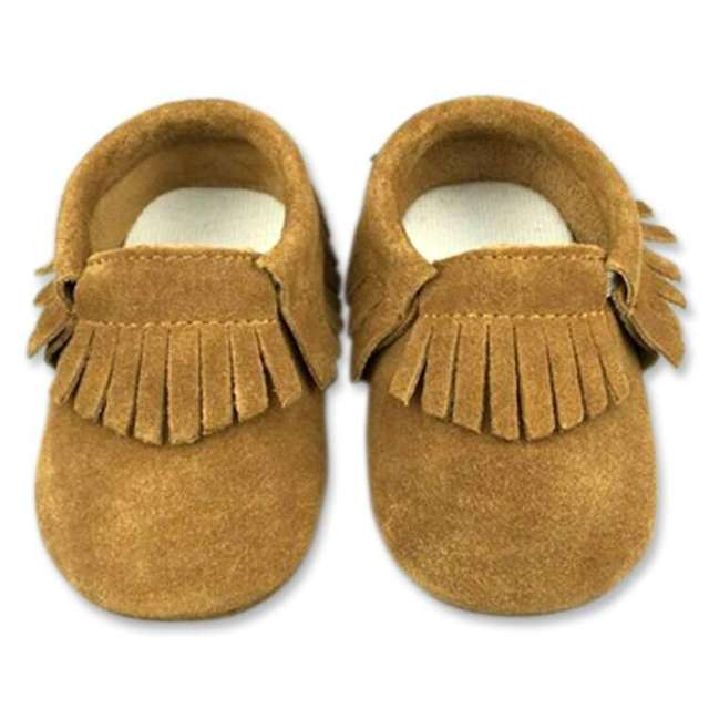 New design Hard sole Genuine Suede Leather  baby shoes Fringe Toddler  baby moccasins First walker kids shoes 2016