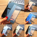 Новое Прибытие Передняя Панель + Крышка 2.5D Цвет Покрытие Гальванизируйте Зеркало Закаленное Стекло Для iPhone 7 Plus Экран Протектор Фильм