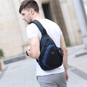 Image 5 - BALANG Messenger Bag Men Nylon Multipurpose Chest Pack Sling Shoulder Bags for Men Casual Crossbody Bolsas 2020 New Fashion