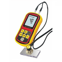 2016 Limited Coating Thickness Gauge Gm100 Ultrasonic Wall Thickness Gauge Meter Tester Steel Pvc Digital Testing