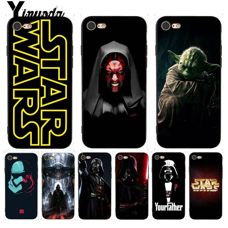 Yinuoda For iphone 7 6 X Case Star Wars and bb8 First-rate Phone Accessories Case for iPhone 7 X 6 6S 8 Plus X 5 5S SE 5C Case image