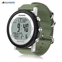 SUNROAD рыбалка Цифровой Барометр часы для мужчин спортивные часы предназначен для любителей рыбалки цифровые наручные часы