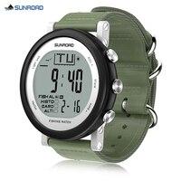 SUNROAD Fishing Digital Barometer Watch Men Sport Watches Designed For Fishing Lovers Digitals Wristwatch