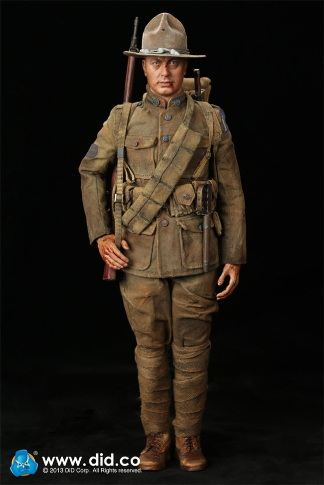 1/6 USA Soldiers Action Figure A11010S WWI Infantryman American Expeditionary Force 1917 Speical Edition Collections did1 6 scale doll american expeditionary force infantry special edition super flexible figure model wwi soldier finished product