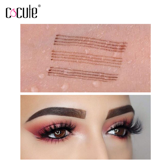 Microblading Eyebrow Pencil Tint 4 Tip Liquid Brow Tattoo Pen 5 Colors Paint Makeup Eyebrows Waterproof Cosmetic Eye brow Liner 2