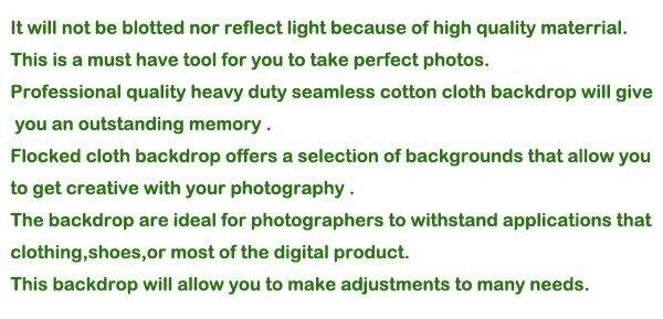מס חינם לרוסיה חדש ציוד צילום 3m 4m x כותנה Chromakey מסך ירוק מוסלין רקע רקע
